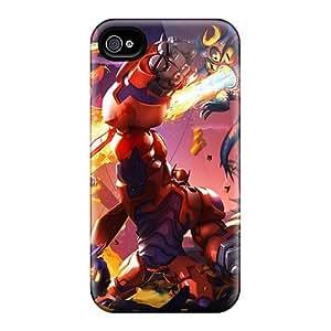 ChristopherWalsh Iphone 4/4s Protective Hard Phone Cases Unique Design Fashion Big Hero 6 Pattern [SLX6551cNgW]