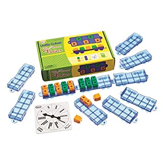 Didax Educational Resources Unifix Ten Frames Train Set