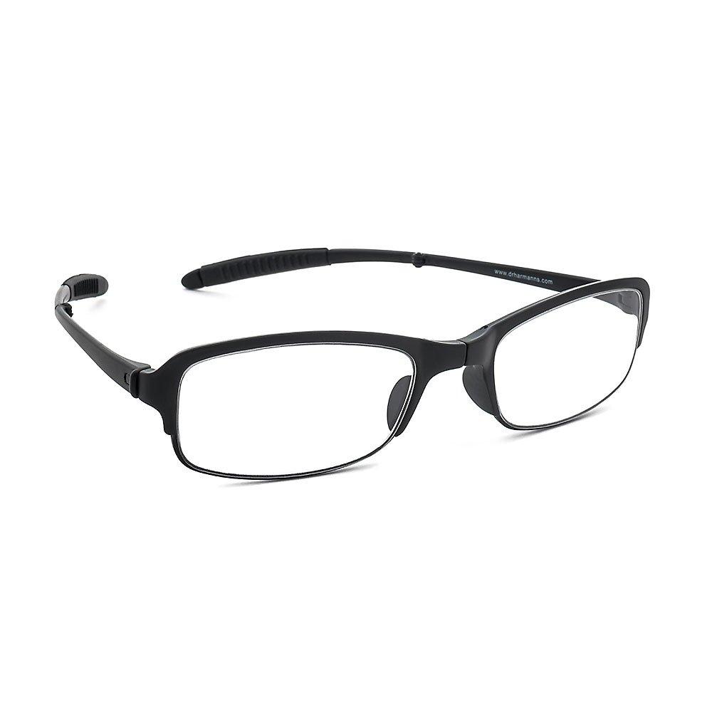 dcf35df0aa0 Dr. Harmann s Slim2 TR90 Foldable Slim Reading Eyeglasses With Pocket  Zipcover (+1.75
