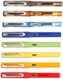 8 PCS Jinhao 599 Fountain Pens Diversity Set Transparent and Unique Style
