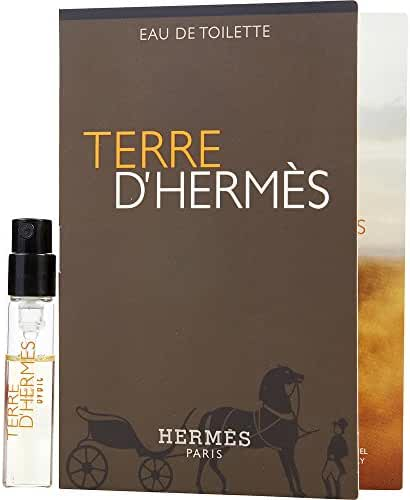 TERRE D'HERMES by Hermes EDT SPRAY VIAL ON CARD MINI (Package Of 2)