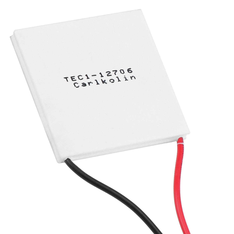 12 V 5,8 A TEC1-12705 5PCS 60 W m/ódulo de refrigeraci/ón de disipador de Calor HSEAMALL Tec Peltier refrigerador termoel/éctrico