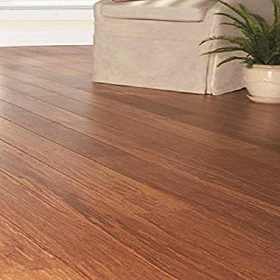 Strand Woven Antiqued Harvest 3/8 in. x 5-1/8 in. Wide x 72 in. Length Click Lock Bamboo Flooring (25.75 sq. ft. / case)
