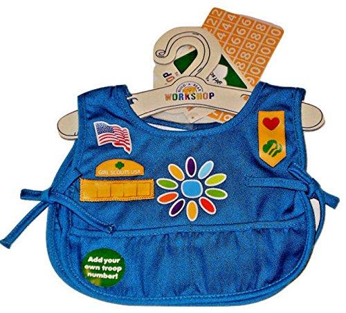 Build A Bear Girl Scouts Daisy Uniform Tunic Top Smock Teddy Stuffed Animal Size by Build A Bear