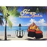 108 Pieces NeverXhale 100% Natural Coconut Charcoal for Hookah Shisha