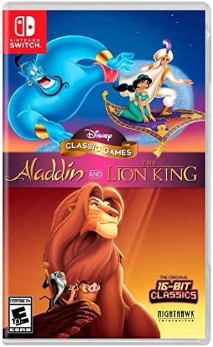 Nighthawk Interactive Disney Classic Games: Aladdin and The Lion King - Nintendo Switch
