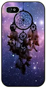diy phone caseDreamcatcher, purple nebula and stars - iphone 6 4.7 inch black plastic case / Inspirationdiy phone case