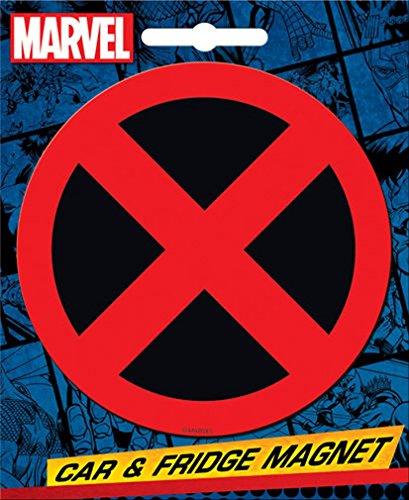- Ata-Boy Marvel Comics Die-Cut X-Men Logo Magnet for Cars, Refrigerators and Lockers