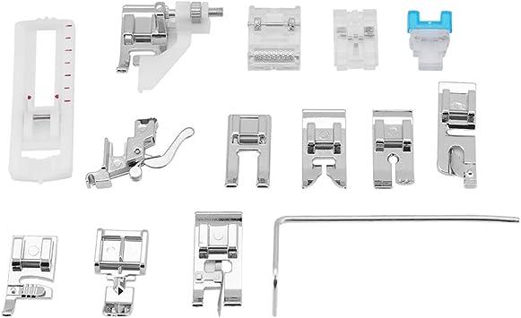 Juego de 14 patas para máquina de coser de vástago bajo para casa: Amazon.es: Bricolaje y herramientas