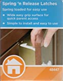 Safety 1st 48447 Spring N' Release Latch 3 Count