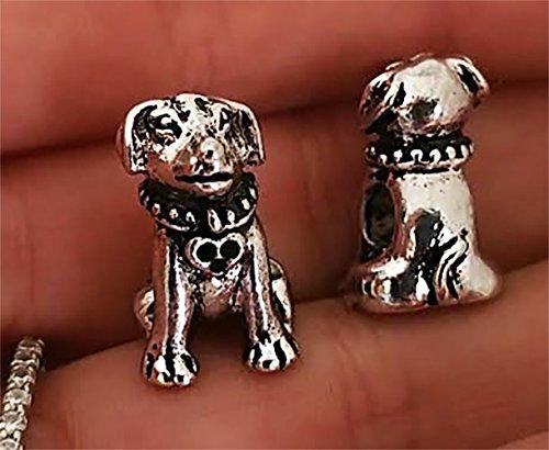 EWT My Lab Labrador retriever dog , devoted dog charm bead for all brand & European charm bracelets