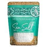 SaltWorks Cyprus Flake, Mediterranean Sea Salt Flakes, Artisan Zip-Top Pouch, 2.5 Ounce