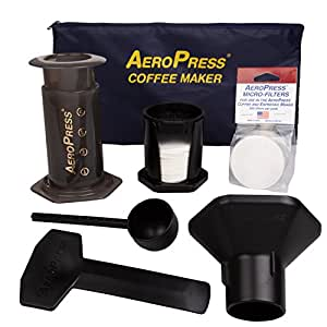 AEROBIE AEROPRESS COFFEE MAKER SYSTEM IN A BOX with TOTE BAG