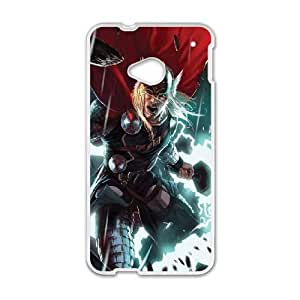 Thor HTC One M7 Cell Phone Case White DIY GIFT pp001_8171226