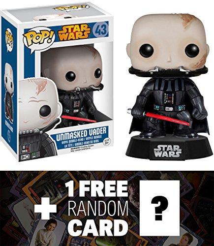 Unmasked Vader Bobble Head Official Trading