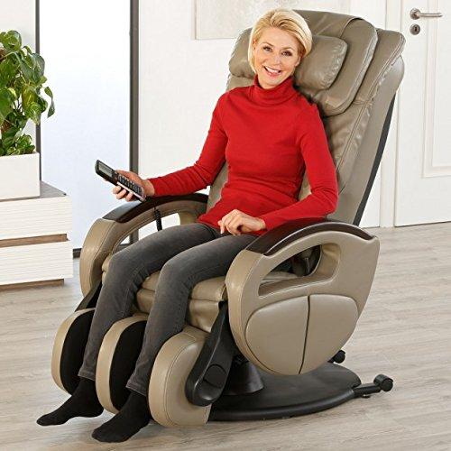massagesessel komfort deluxe mit shiatsu massagefunktion drehbar transportrollen kaufen. Black Bedroom Furniture Sets. Home Design Ideas
