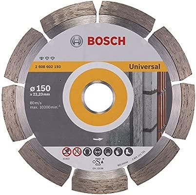 Bosch Professional 2608602395 Standard for Universal Turbo Diamond Cutting disc 150 mm