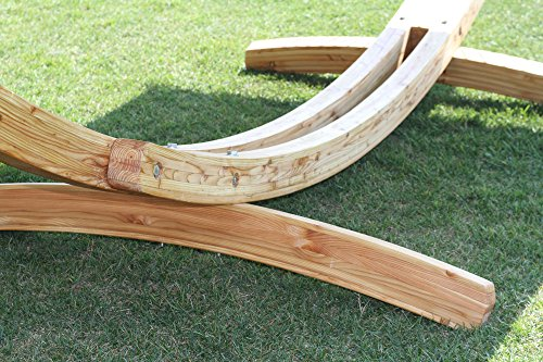 PHAT TOMMY 15 ft Arc Stand in Juniper Wood