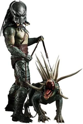 *Predators figurine Movie Masterpiece 1/6 Tracker Predator with Hound 35 cm*
