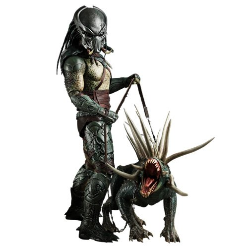Sideshow Collectibles Predator Hot Toys 12 Inch Deluxe Figure Tracker Predator