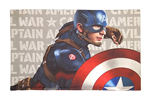 Marvel Captain America Civil War Lightning Standard 20'' x 30'' Pillowcase by Marvel