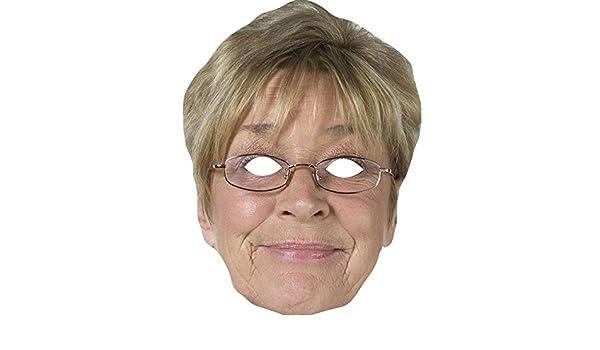 Anne Kirkbride Deirdre Barlow From Coronation Street Celebrity Card Mask