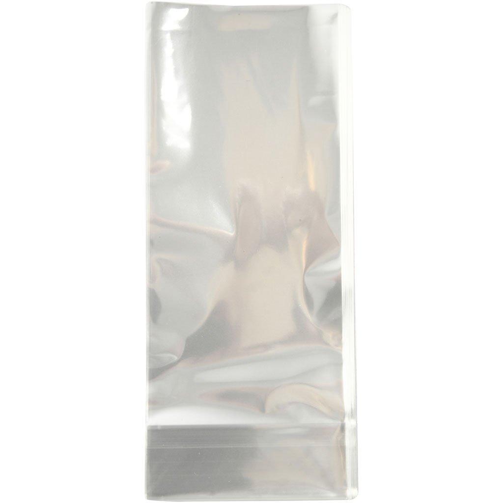 Bolsa de celofán, tamaño 6,5 x 4,5 cm, 16 cm, 200 unidades ...