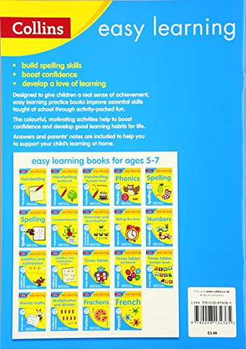 first phonics ages 34 collins easy learning preschool