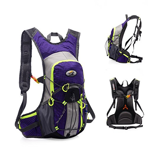 Amazon.com: Leoie Outdoors Hydration Vest Pack Backpack for Mochilas Trail Marathoner Running Race Violet: Sports & Outdoors