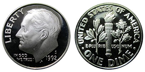 1992 S Proof Roosevelt Dime PF1