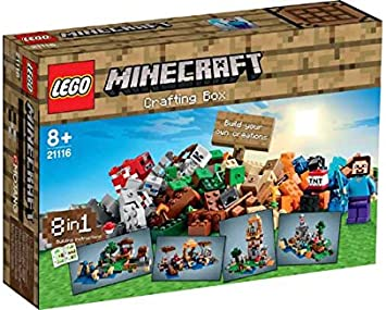 LEGO Minecraft creativo Box - 21116.: Amazon.es: Juguetes y juegos