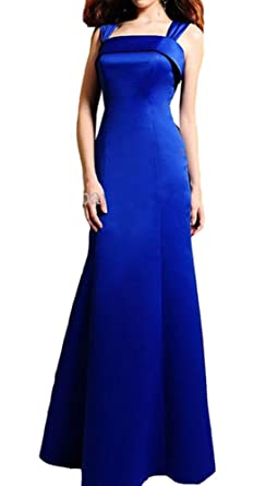 3e648a4039 Snow Lotus Women s Strapless Shoulders with Sapphire with Evening Dress  Bridesmaid Dresses