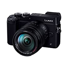 Panasonic Mirrorless SLR Lumix GX8 Lens Kit (20.3M pixel) Black/DMC-GX8H-K [International Version, No Warranty]