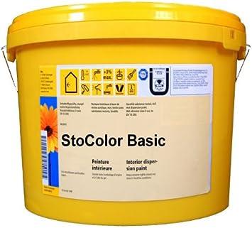 Sto Color Basic 10liter Weiss Innenwandfarbe Amazon De Baumarkt