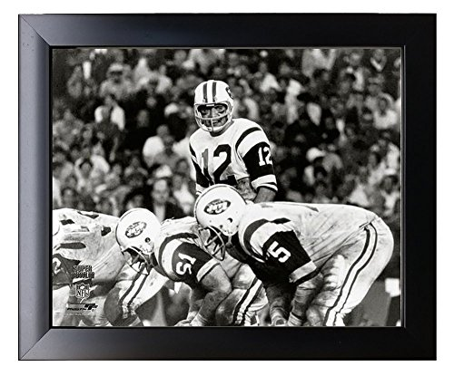 Framed New York Jets Joe Namath During Super Bowl III (3) 8x10 Action Photo Picture.
