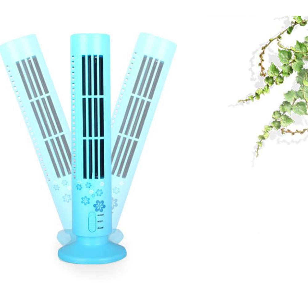 Amazon.com: DWhui Portable USB Mini Fans Tower Without Leaves Fans Fan Table air Conditioner Cooling Fans Portable Computer purifiers: Home & Kitchen