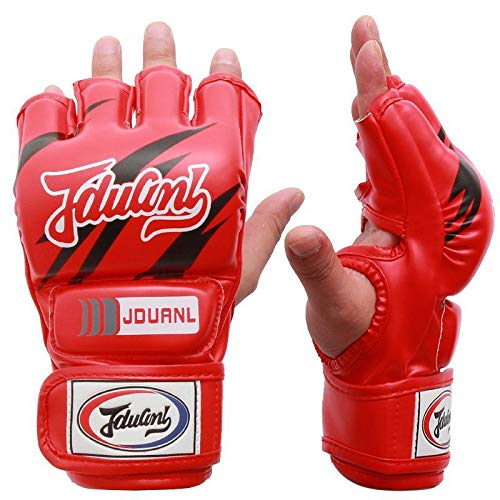 Car accessories - Boxing Gloves MMA Gloves Muay Thai Training Gloves MMA Boxer Fight Boxing Equipment Half/Mitts PU Leather