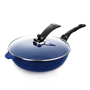 Olla Utensilios De Cocina Antiadherentes para Ollas, Cacerola 32 cm, Sartén - Aleación De Aluminio, Control Inteligente De La Temperatura Visual, ...