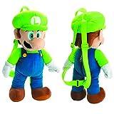 Super Mario Bros Luigi Plush Backpack
