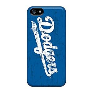 Iphone 5/5s Case, Premium Protective Case With Awesome Look - Los Angeles Dodgers
