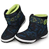 UOVO Boys Girls Kids Snow Boots Winter Boots Waterproof Winter Shoes Warm Fur