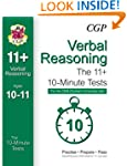 10-Minute Tests for 11+ Verbal Reason...