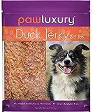 Pawluxury Duck 100% All-Natural Gluten/Grain/Antibiotic/Hormone Free Jerky Dog Treats - 2.5 lbs (40 oz.) Bag