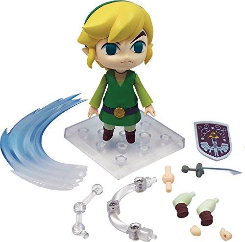 Good Smile The Legend of Zelda Wind Waker Link Nendoroid (EZ Version) Action Figure (Breath Of The Wild Real Action Hero)