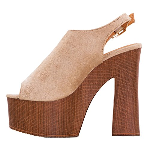 Toocool Zapatillas de Material Sintético Para Mujer Negro Size: 38 CsCmW