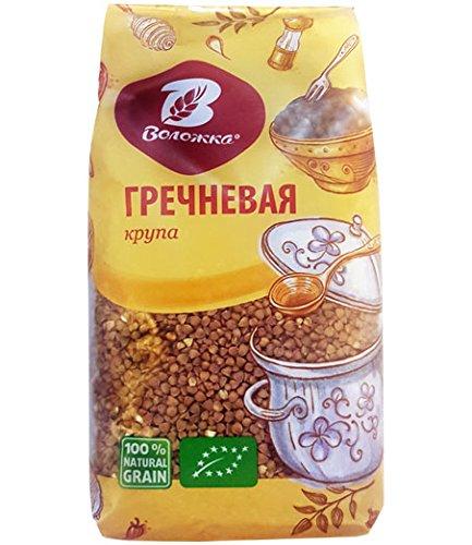 Volozhka Buckwheat Groats 28.2 Ounce / 800 Gr - Kasha / Grechka / Porridge. Made in Russia