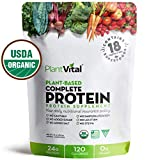 NEW! PLANT BASED PROTEIN POWDER w 18 SUPERFOODS, Veggies & Probiotics: Kale, Beets