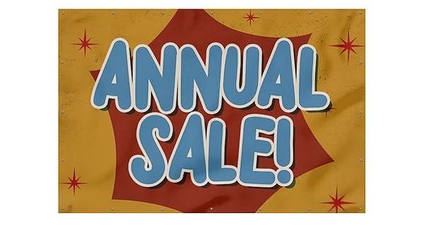 9x6 CGSignLab Seasonal Sale Chalk Burst Heavy-Duty Outdoor Vinyl Banner