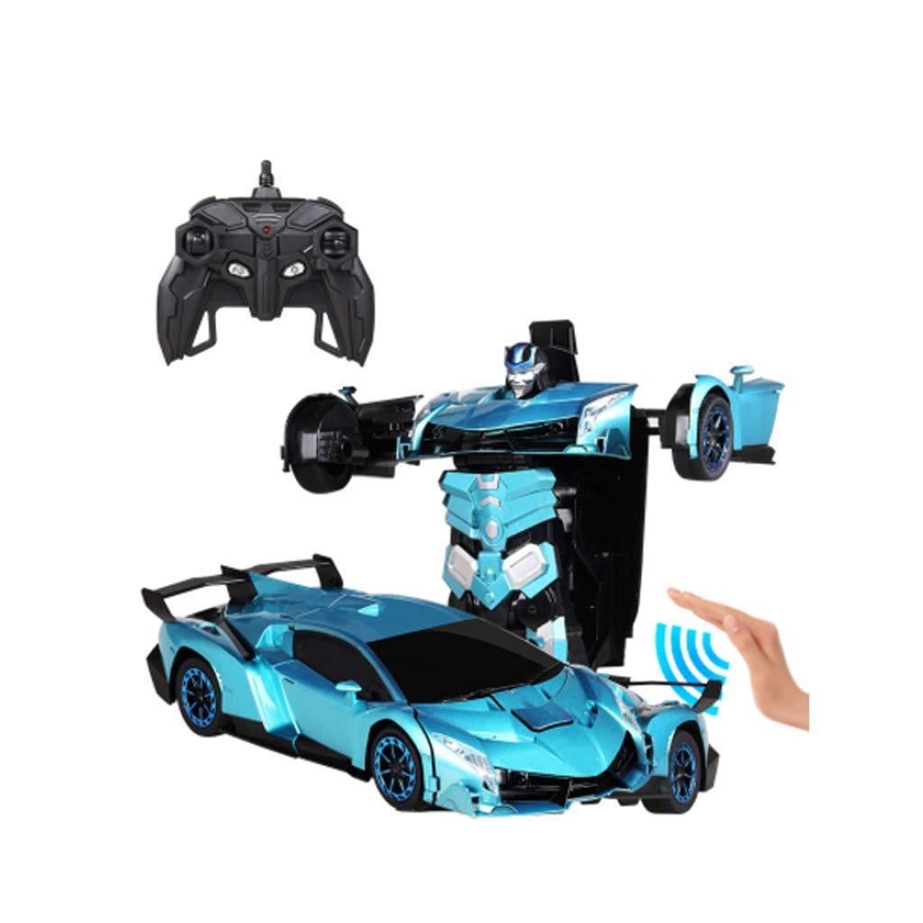 Deformed Car Toy, Giocattolo per bambini con telecomando per bambini, 2.4G Telecomando per auto da 360 gradi Competizione per auto da corsa Giocattolo per bambini Ragazza del ragazzo Giocattolo per ba