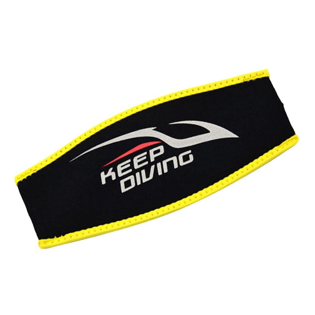 MagiDeal Blue//Black//Rose Comfort Neoprene Snorkeling Diving Mask Strap Cover Dive Glasses Belt Wrap 22.2 x 10cm